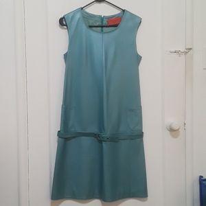 Emanuel Ungaro leather dress